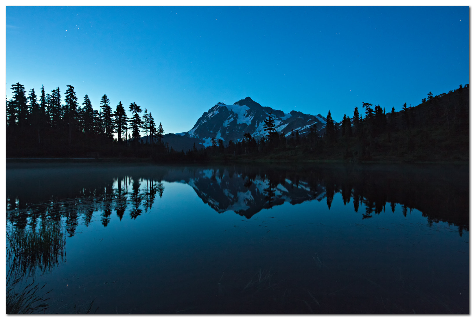 Photograph Shuksan Sunrise by Jameel Hyder on 500px