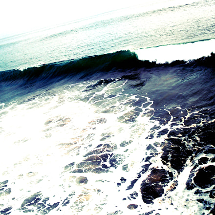 Oceanside Waves, Fujifilm FinePix J20