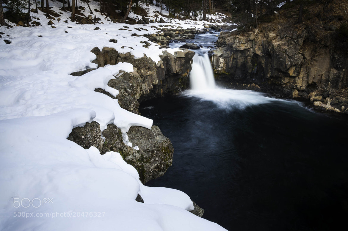 Photograph Winter is Here (Lower McCloud Falls) by Eric Leslie on 500px