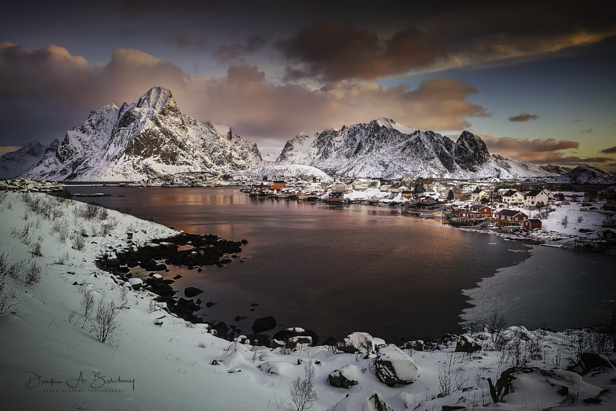 Reine Reflections by Derek Burdeny on 500px.com