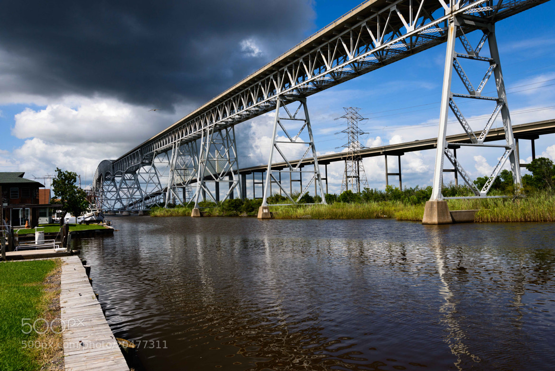 Photograph Rainbow Bridge, Bridge City, Texas by Preston Hutson on 500px