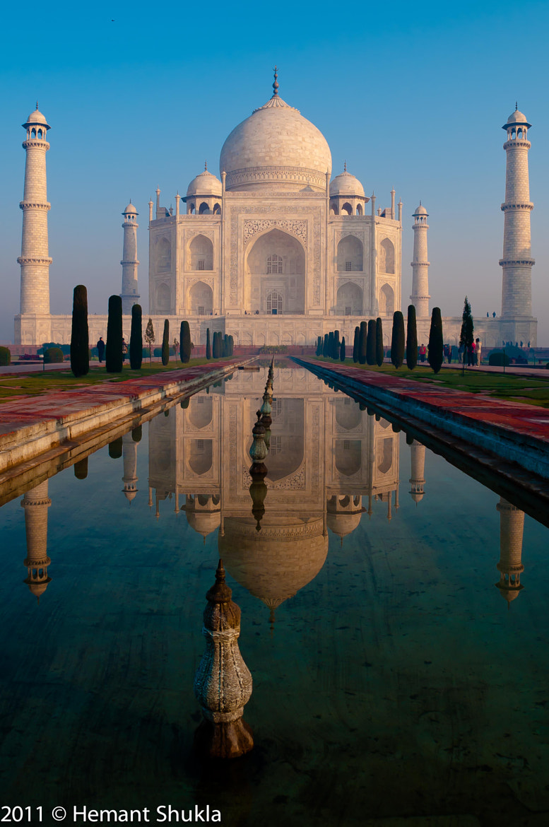 Photograph Taj In Morning Light by Hemant Shukla on 500px