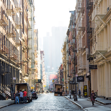 SOHO On the Rise, Canon EOS 5D MARK III, Canon EF 24-105mm f/4L IS