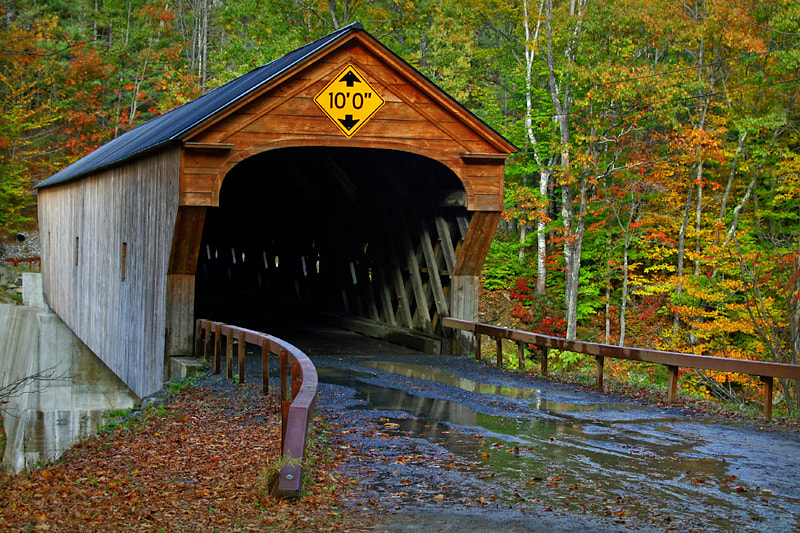 Photograph Vermont Covered Bridge by Bambi L. Dingman on 500px