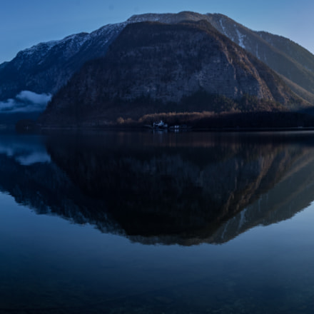 Early Morning in Hallstatt, Pentax K-5, smc PENTAX-DA 18-135mm F3.5-5.6 ED AL [IF] DC WR
