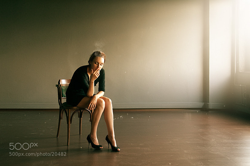 Photograph empty room by Anton Martynov on 500px