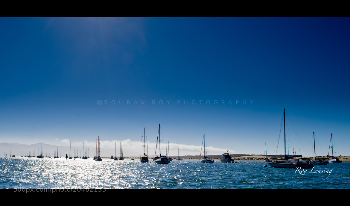 Photograph Morro Bay Sailing by Sourav Roy on 500px