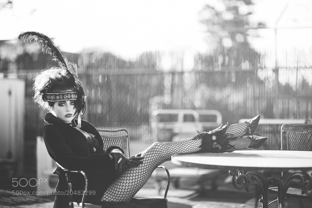 Photograph Daliah the Circus Queen by Emily  Soto on 500px