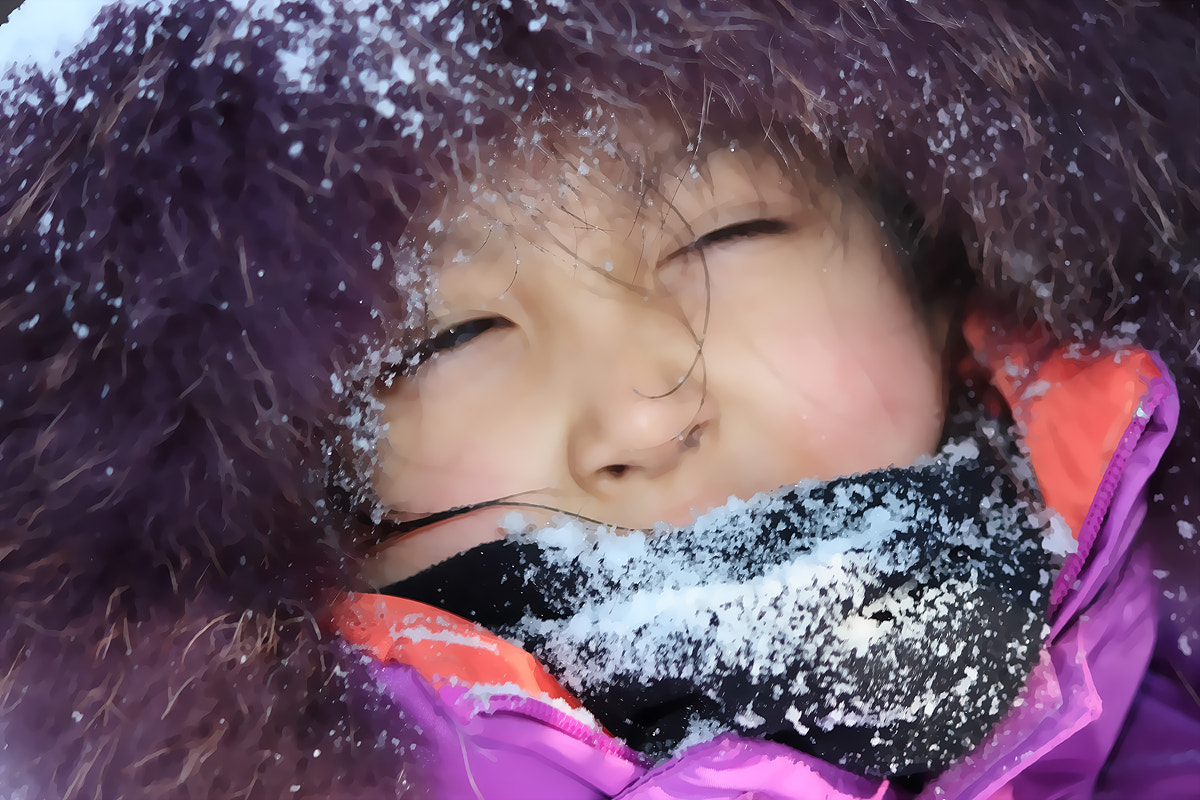 Photograph Winter girl by TY Kim on 500px
