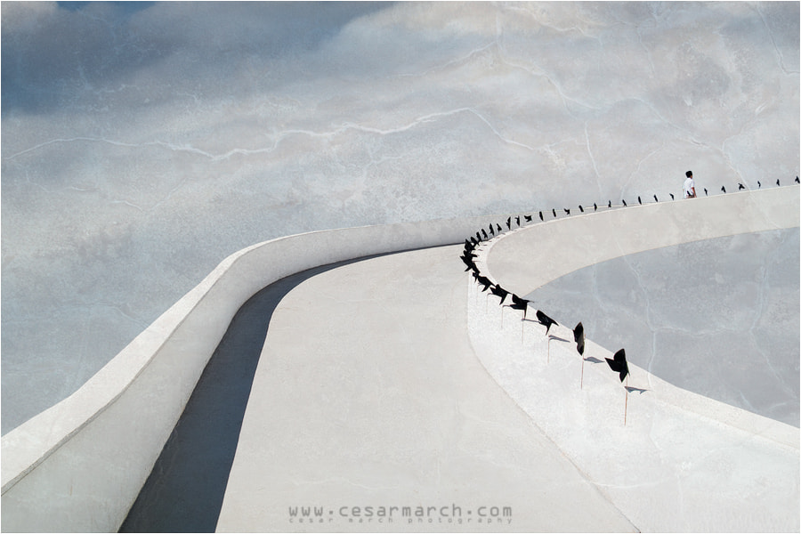 Photograph Niemeyer's Tribute (highway to heaven) by Cesar March on 500px