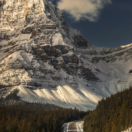 Icefield parkway, Canon EOS 5DS, Canon EF 70-200mm f/4L IS