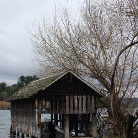 Old boat house, Sony DSC-H50