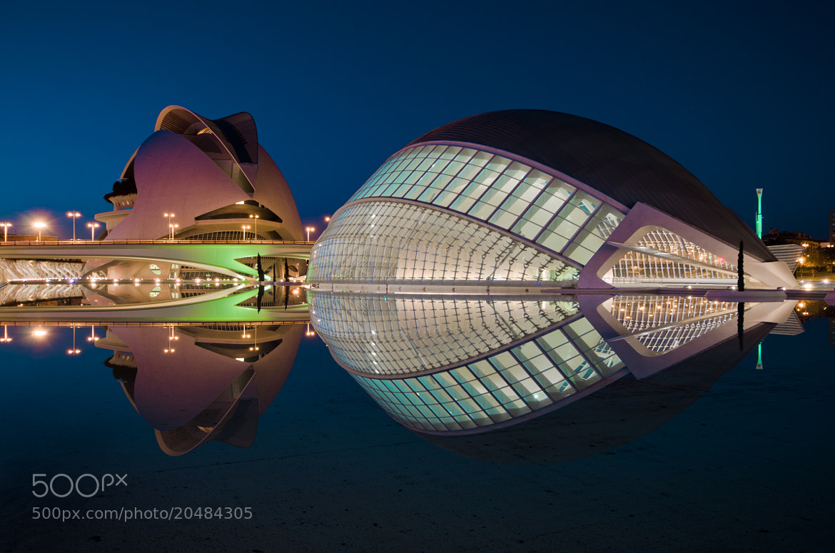 Photograph City of arts and sciences by César Asensio Marco on 500px