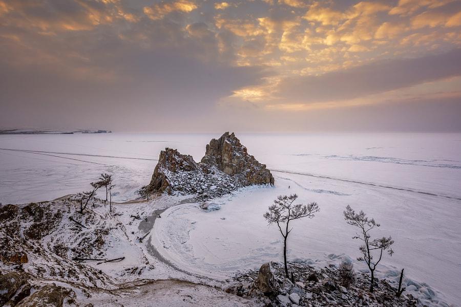 Shamanka Rock of Lake Baikal by Arnupap Supap on 500px.com