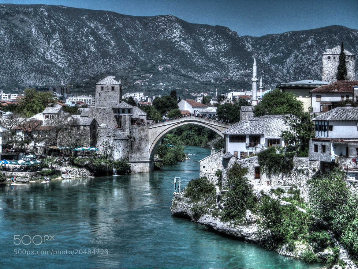Photograph Mostar Bridge by semin baylan on 500px