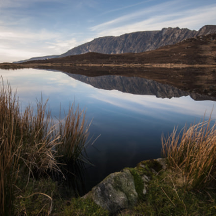 Slieve League reflections, Nikon D300S, Sigma 10-20mm F4-5.6 EX DC HSM
