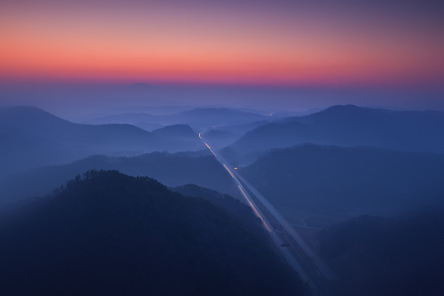 Photograph highway by Jason Koo on 500px