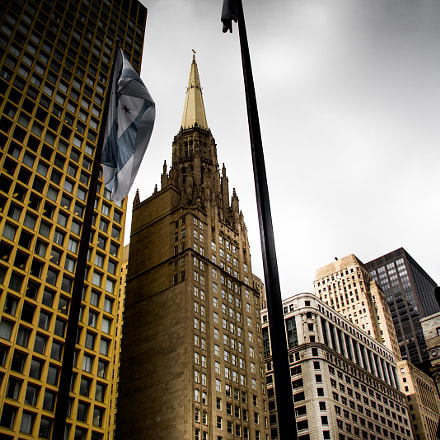 Chicago Skyline, Canon EOS 60D, Canon EF-S 17-85mm f/4-5.6 IS USM