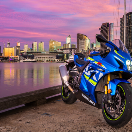 The brand new Suzuki, Canon EOS-1D X, Canon EF 17-40mm f/4L