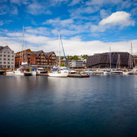 View of a marina, Canon EOS 5D MARK II, Canon EF 16-35mm f/2.8L II