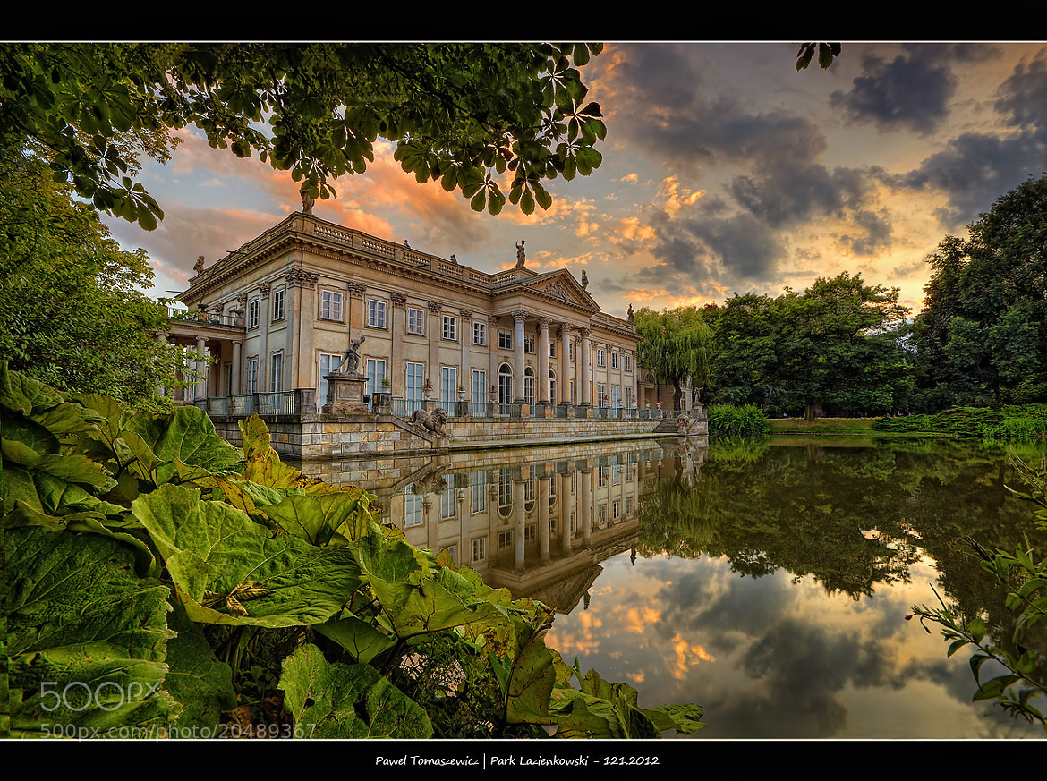 Photograph Palace on Water ... by Pawel Tomaszewicz on 500px
