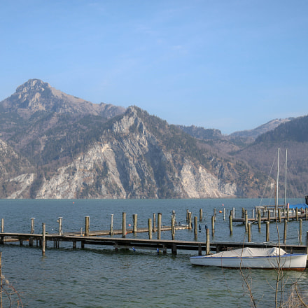 am Traunsee..., Canon EOS 750D, Canon EF-S 18-55mm f/3.5-5.6 IS STM