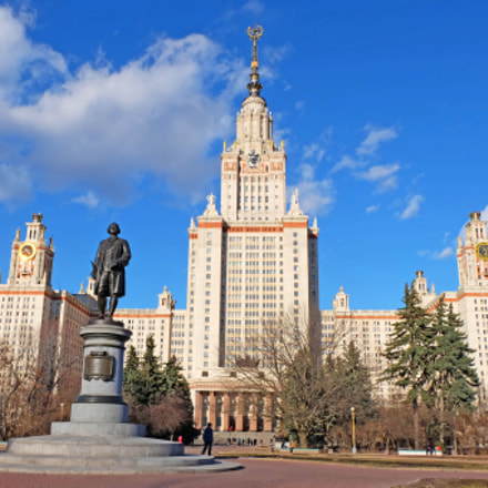 MOSCOW UNIVERSITY NAMED AFTER, Fujifilm X-M1, XC16-50mmF3.5-5.6 OIS