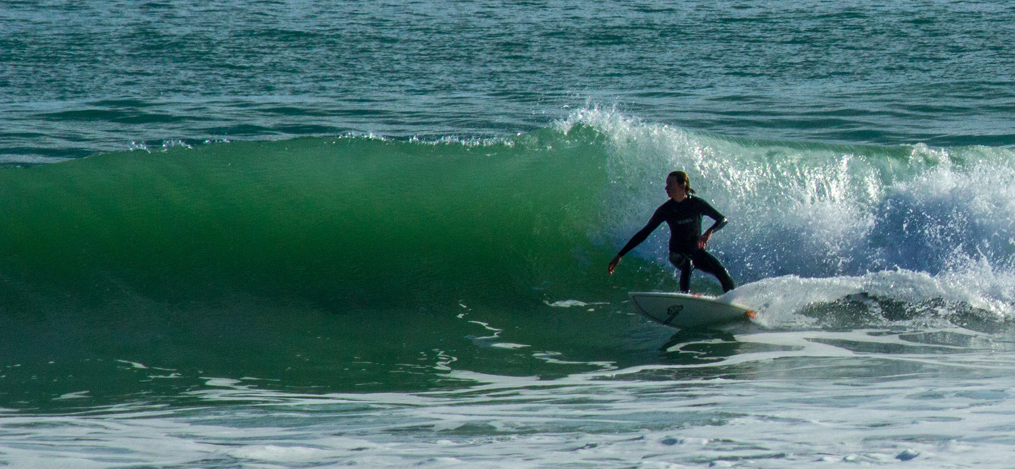Photograph Female Surfer - Raglan New Zealand by Mike Reader on 500px