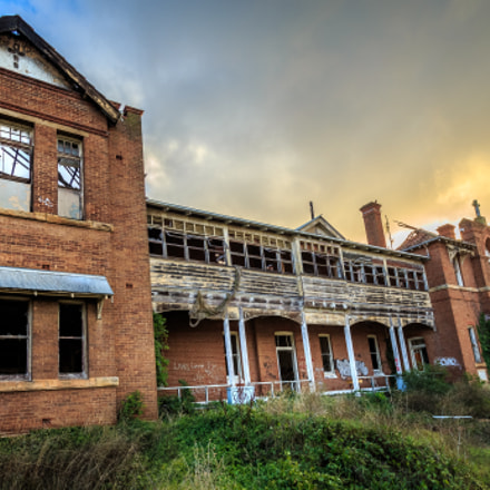 The long abandoned Goulburn, Canon EOS-1D X, Canon EF 17-40mm f/4L