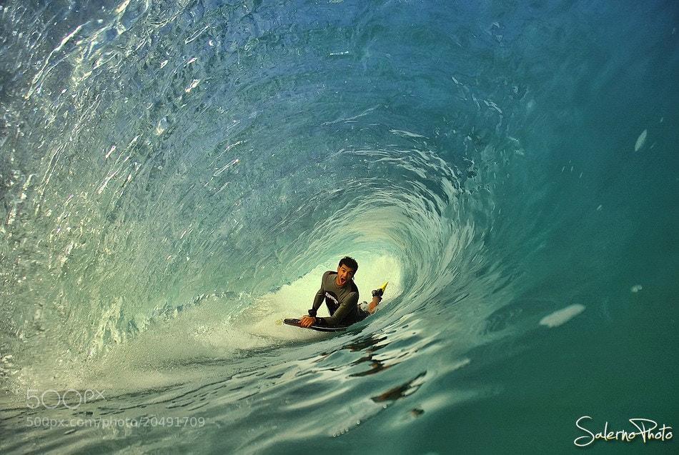 Photograph Bodyboard barrel by Xtef Mistik on 500px