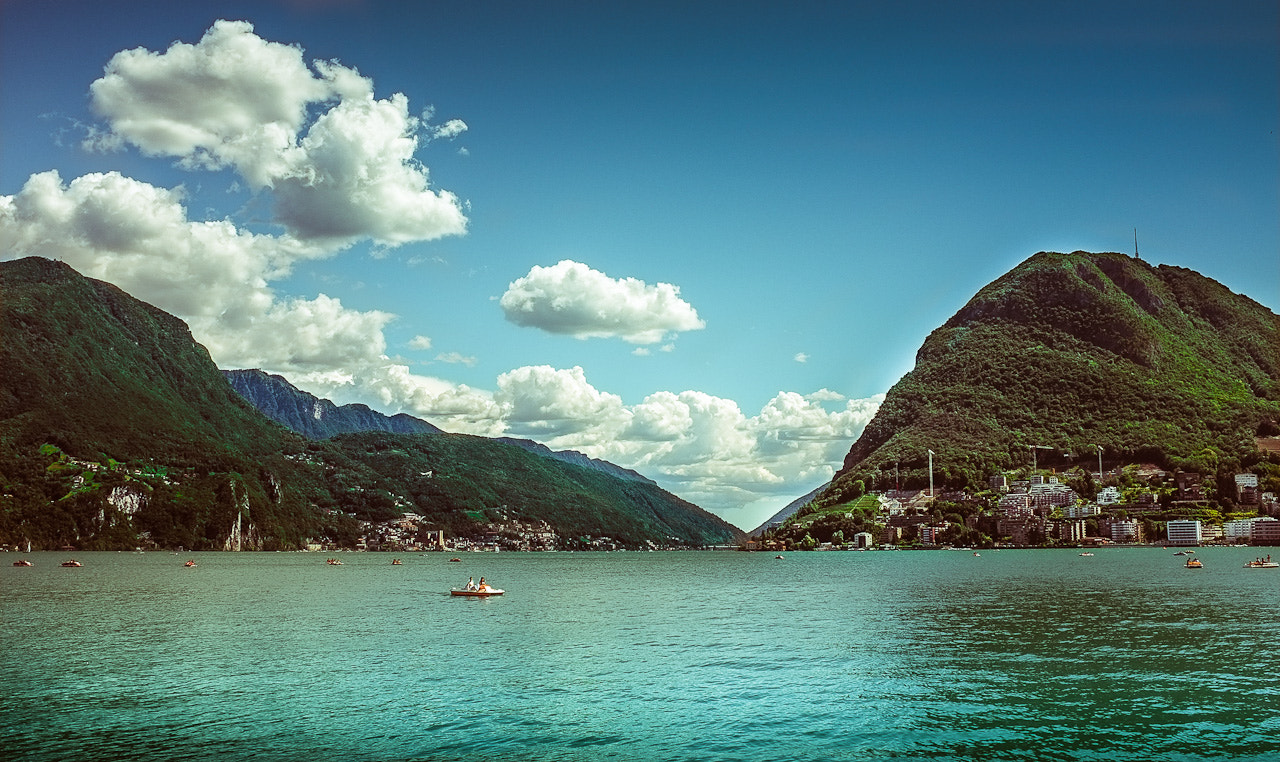 Photograph Summertime in Lugano by Simone Messaggi on 500px