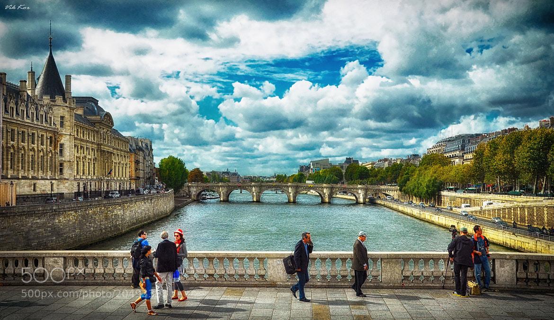 Photograph Seine River.Paris by Viktor Korostynski on 500px