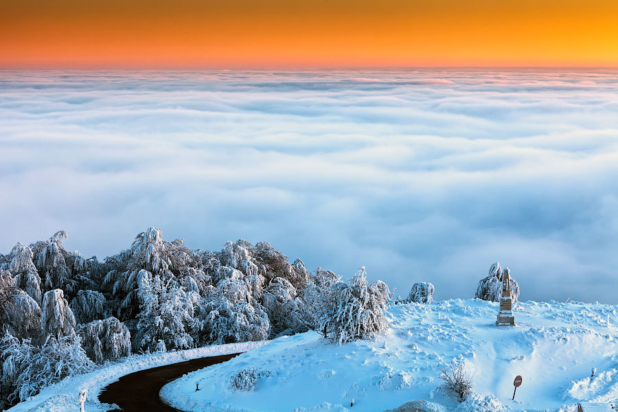 Photograph A World Above the Clouds by Evgeni Dinev on 500px