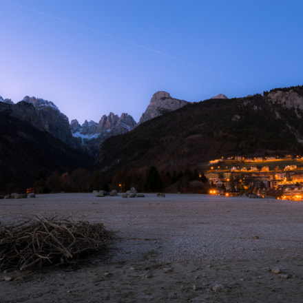 Blue Hour from Molveno, Canon EOS 6D, Canon EF 24-105mm f/3.5-5.6 IS STM