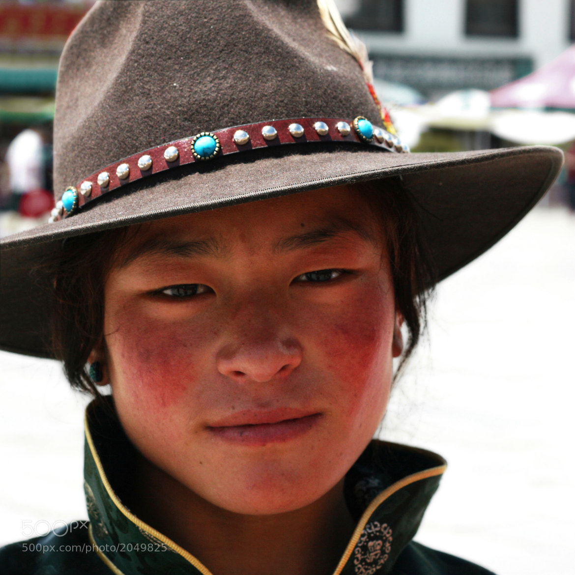 Photograph Tibetan girl by Carmen Ríder on 500px