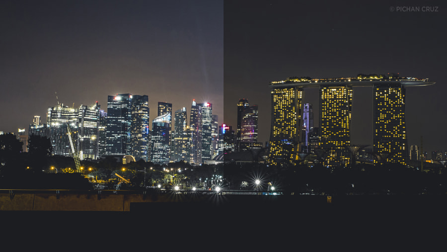 Singapore Earth Hour 2017 by Pichan Cruz on 500px.com