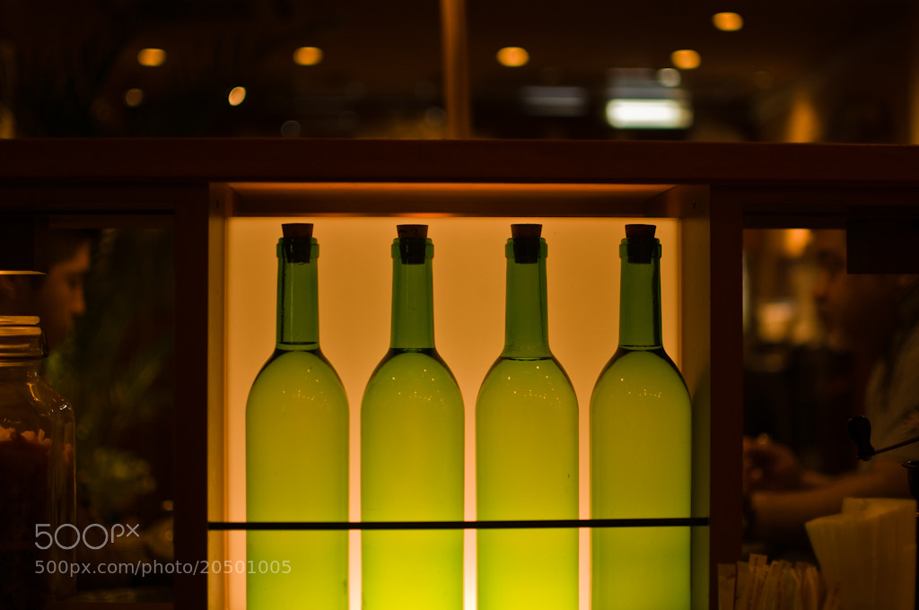 Photograph Bottles by Bornil P on 500px