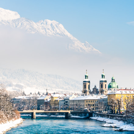 Snow covered Innsbruck on, Nikon D600, Tamron SP AF 70-200mm f/2.8 Di LD (IF) Macro (A001)