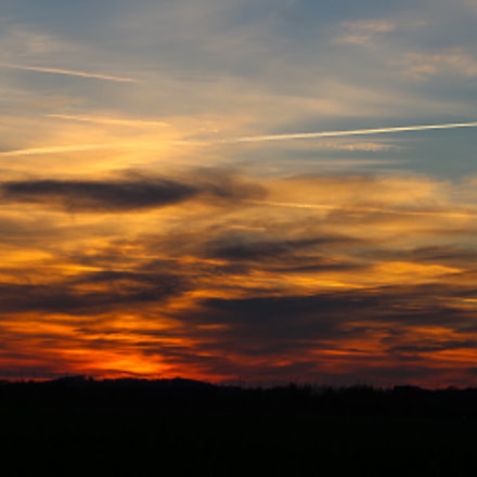 Cloudy Sunset, Canon EOS 6D, Canon EF 24-105mm f/3.5-5.6 IS STM