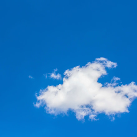 Lonely Cloud, Canon EOS KISS X6I, Canon EF 40mm f/2.8 STM