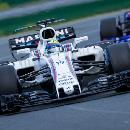 Williams driver, Filipe Massa, Canon EOS 7D MARK II, Canon EF 200-400mm f/4L IS USM