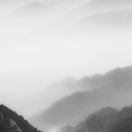 Huangshan ink, Nikon D7000, AF Zoom-Nikkor 24-120mm f/3.5-5.6D IF