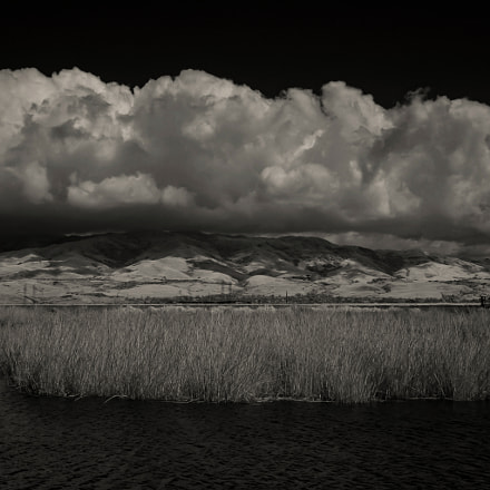 clouds and marshes, Canon EOS D60