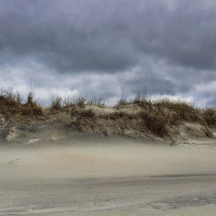 Topsail Sand Dunes, Canon EOS REBEL T6, Canon EF-S 18-55mm f/3.5-5.6 IS II