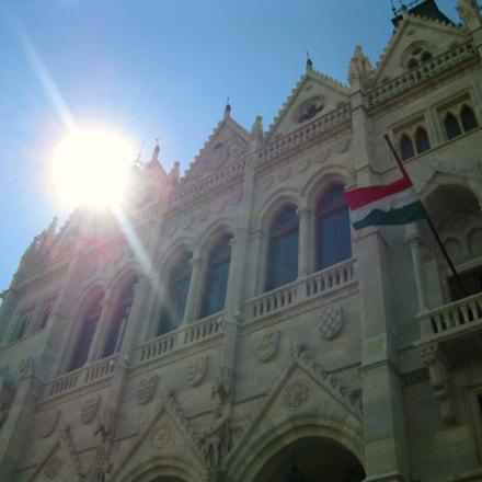 Hungarian Parliament, Canon POWERSHOT A3100 IS