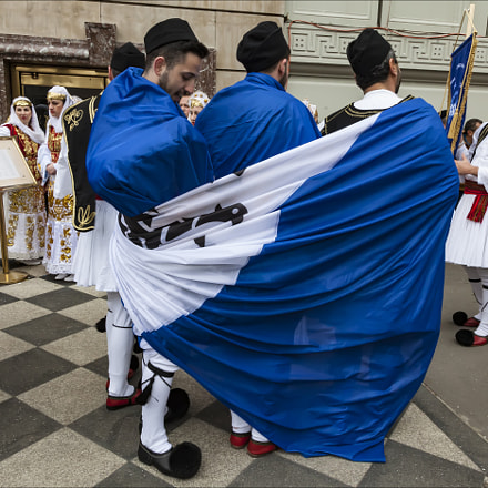 Greek Independence Day NYC 2017, Canon EOS 5D MARK II, Canon EF 24-105mm f/4L IS
