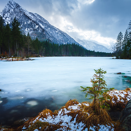 Frozen Hintersee, Sony ILCE-7M2, Sony DT 50mm F1.8 SAM (SAL50F18)