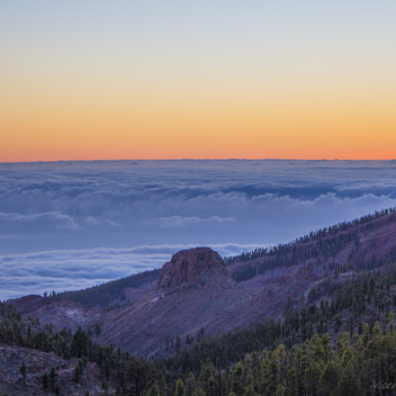 Panorama from Teide, Canon EOS 700D, Canon EF-S 18-55mm f/3.5-5.6 IS STM