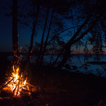 Night fire, Canon EOS 500D, Canon EF-S 18-55mm f/3.5-5.6 IS