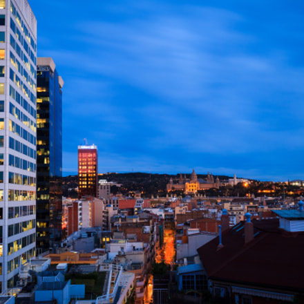 Barcelona Cityscape, Canon EOS 1100D, Canon EF-S 18-55mm f/3.5-5.6 IS STM